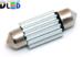 Салонная лампа C5W FEST 36мм - 4 SMD7020 2Вт (Белая)