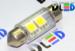 Салонная лампа C5W FEST 36мм - 2 SMD5050 0,48Вт (Белая)