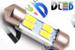 Салонная лампа C5W FEST 36мм - 4 SMD5630 1,6Вт (Белая)