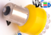 Светодиодная автолампа P21W 1156 - 9 Dip-Led 0,45Вт (Жёлтая)