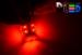Светодиодная автолампа P21/5W 1157 - 13 Super-Flux 1,3Вт (Красная)
