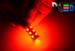 Светодиодная автолампа P21/5W 1157 - 18 SMD5050 4,32Вт(Красная)