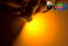Светодиодная автолампа T4W BA9S - 4 3528SMD 0,2Вт (Жёлтая)